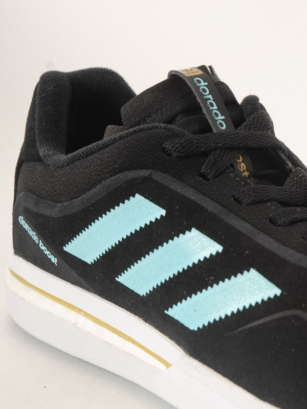 Rancio Moler Tengo una clase de ingles  adidas DORADO ADV BOOST Black/Aqua men's shoes / Swis-Shop.com