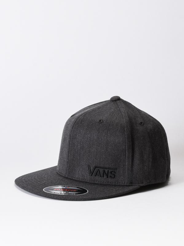 2609bc21d Vans SPLITZ CHARCOAL HEATHER men's cap with straight peak / Swis ...