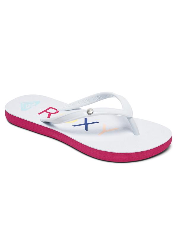 eaafd1e59 Roxy RG SANDY II white women s flip-flops   Swis-Shop.com
