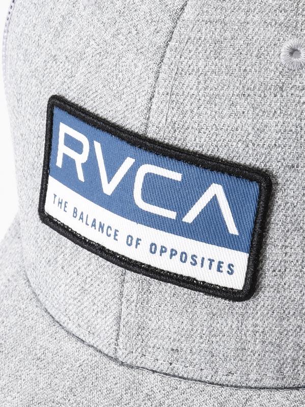 designer fashion 94485 feec7 RVCA RENO HEATHER GREY mens baseball   Swis-Shop.com