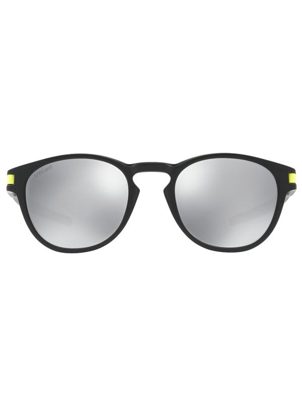 f09c68a6d1 Oakley Latch VR 46 Matte Black   Chrome Iridium men s round sunglasses    Swis-Shop.com