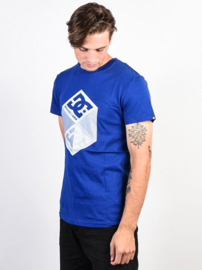 e2f9c3e1093b Dc VOLUME SODALITE BLUE men s short sleeve t-shirt   Swis-Shop.com