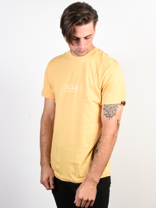 fd08d279fe2 Vans EASY BOX NEW WHEAT men s short sleeve t-shirt   Swis-Shop.com