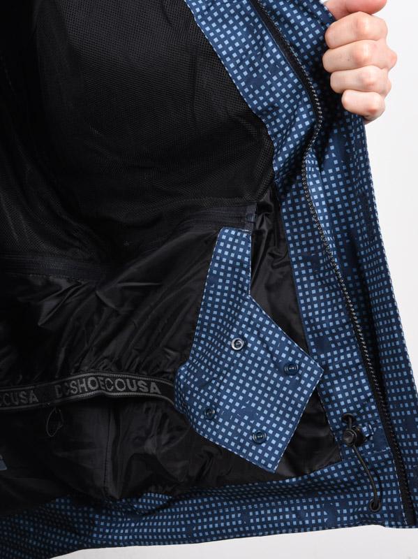 DC Command Snowboard Jacket Mens Sz L Dress Blues Desert Night Camo