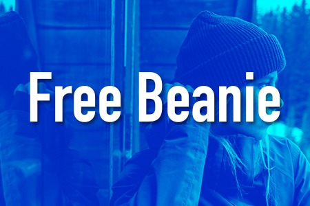 Buy winter jacket and get beanie Billabong for free